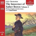 The Innocence of Father Brown: v. 2 by G. K. Chesterton (CD-Audio, 2010)