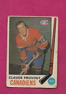 1969-70-OPC-167-CANADIENS-CLAUDE-PROVOST-FAIR-CARD-INV-A4292