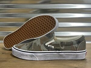 Vans Classic Slip-On Washed Skate Shoes