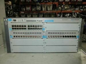HP-4208VL-PROCURVE-NETWORK-SWITCH-J8773A-WITH-MODULES-USED