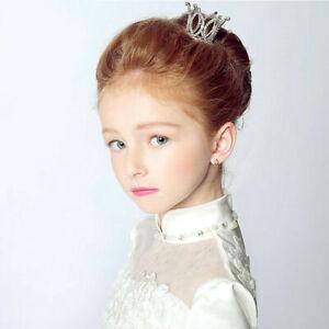 Mini-Crown-Tiara-Hair-Combs-Clear-Rhinestones-Crystal-Bridal-Party-HOT-Pag-U8O4