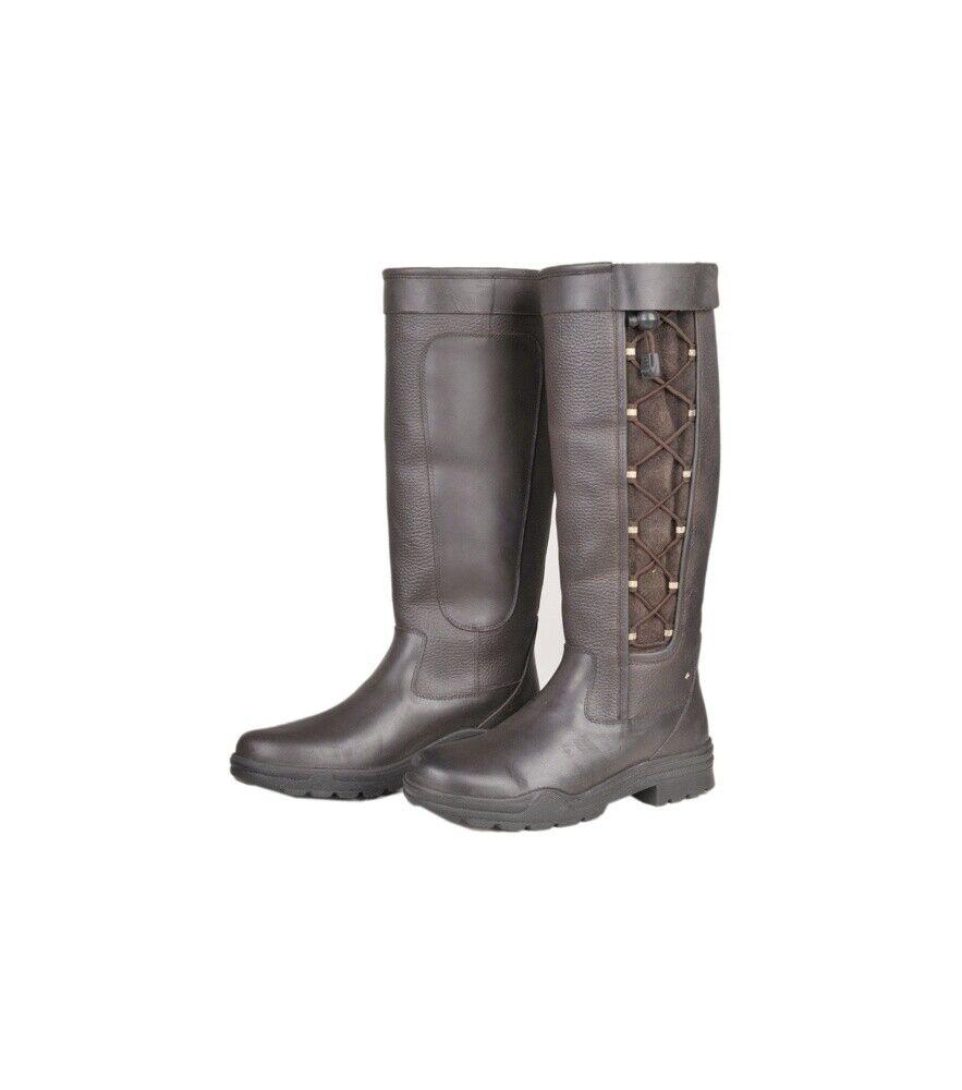 Fashion botas madrid invierno membrana HKM marrón oscuro tamaños diferentes de nuevo