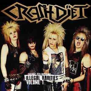 CRASHDIET-Illegal-Rarities-Volume-1-Ltd-Collector-039-s-Ed-Digipak-CD-Sticker