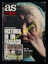 REVISTA AS COLOR 406 R.MADRID BALONCESTO-ATH.BILBAO-RAYO VALLECANO-BOXEO-DAYTONA