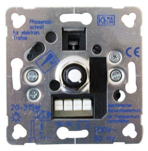 BEKA Dimmer BK63 für Glühlampen, elektronische Trafos, HV-Halogen 20-325W VA | Guter weltweiter Ruf