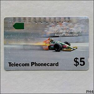 Telecom-Adelaide-Grand-Prix-City-SA-T2C2-3-19-5-Phonecard-PH4