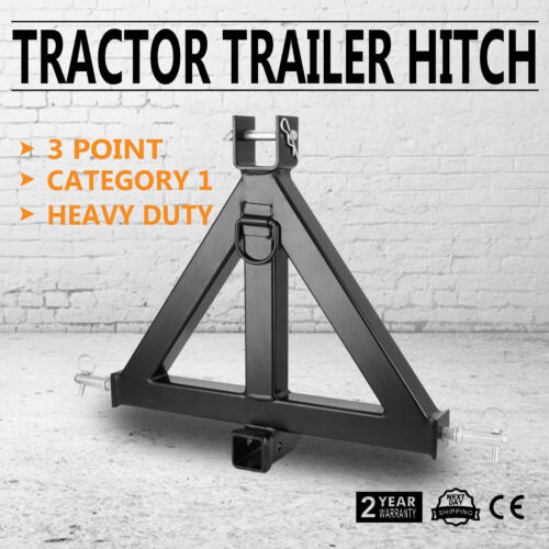 3-Point Quick Hitch Category 1 Farming Tractor Implement Attachments Hook  New