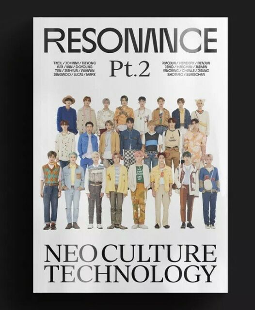 [ NCT - RESONANCE Pt.2  ]The 2nd Album SEALED Departure version + Free Shipping