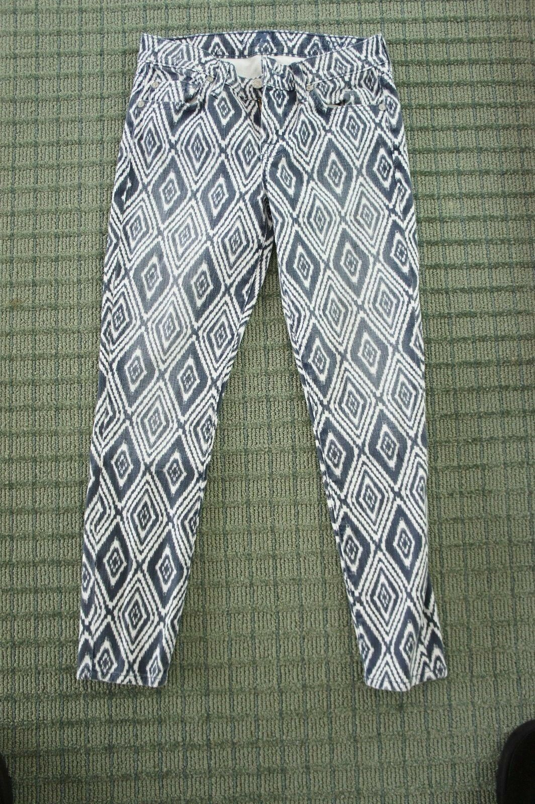 Seven For All Mankind Size 24   Cropped Skinny