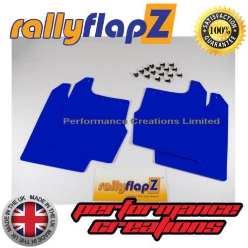 Barro Solapas para caber Ford Focus Mk1 3//5 Dr rallyflapz mudflaps Azul 3 Mm 98-04