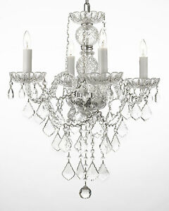 New Authentic All Crystal Chandelier Chandeliers Lighting Htwo X Wseven Ebay