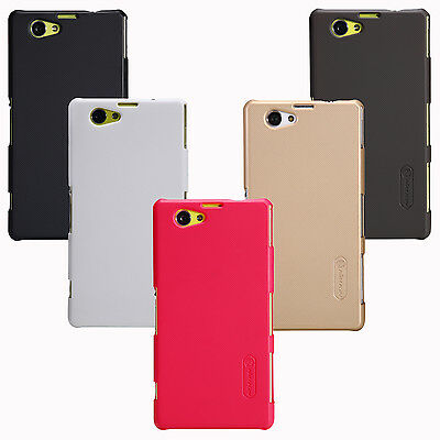 Nillkin Frosted Matte Hard Cover Case +LCD Film For Sony Xperia Z1 Compact D5503