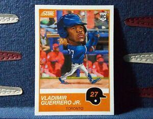 2019-Panini-Score-9-Vladimir-Guerrero-Jr-RC-SP-Toronto-Blue-Jays
