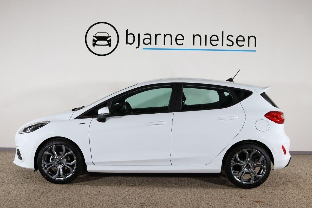 Ford Fiesta 1,0 EcoBoost mHEV ST-Line - billede 1