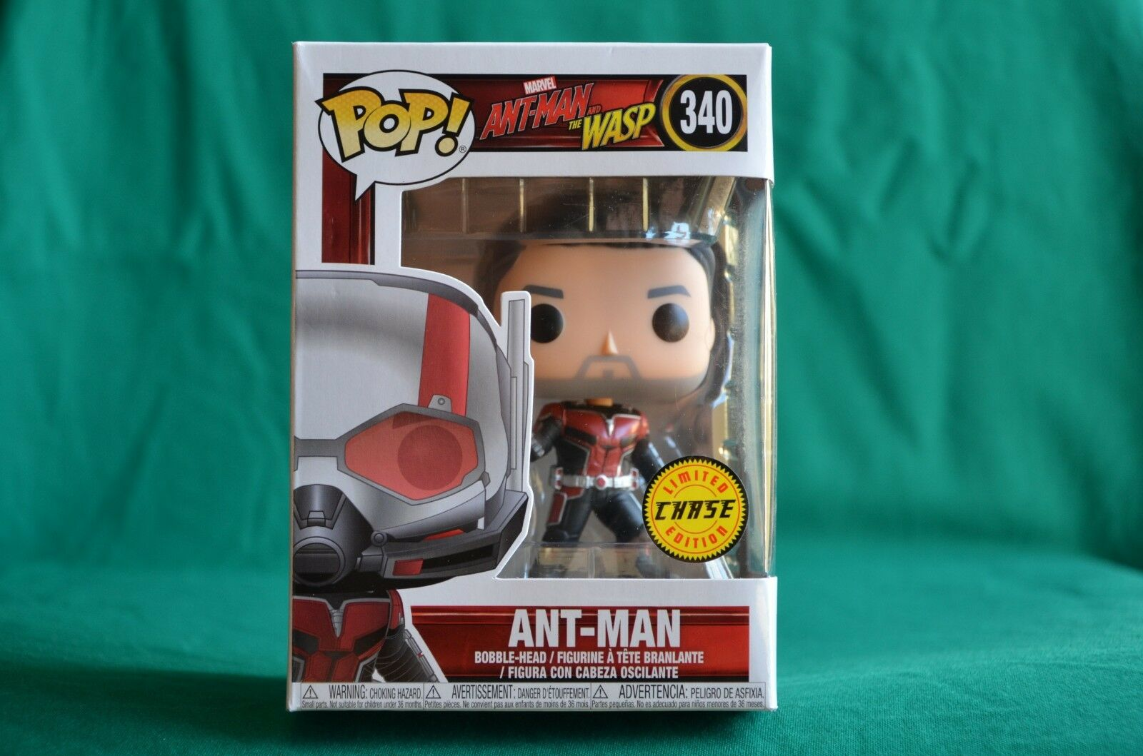 FUNKO POP - MARVEL - ANT-MAN - 340 - LIMITED EDITION CHASE - NUOVO
