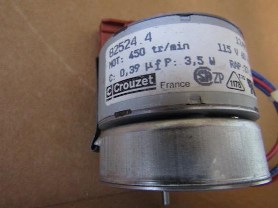Crouzet motor 5W 375RPM 50HZ 220//230V