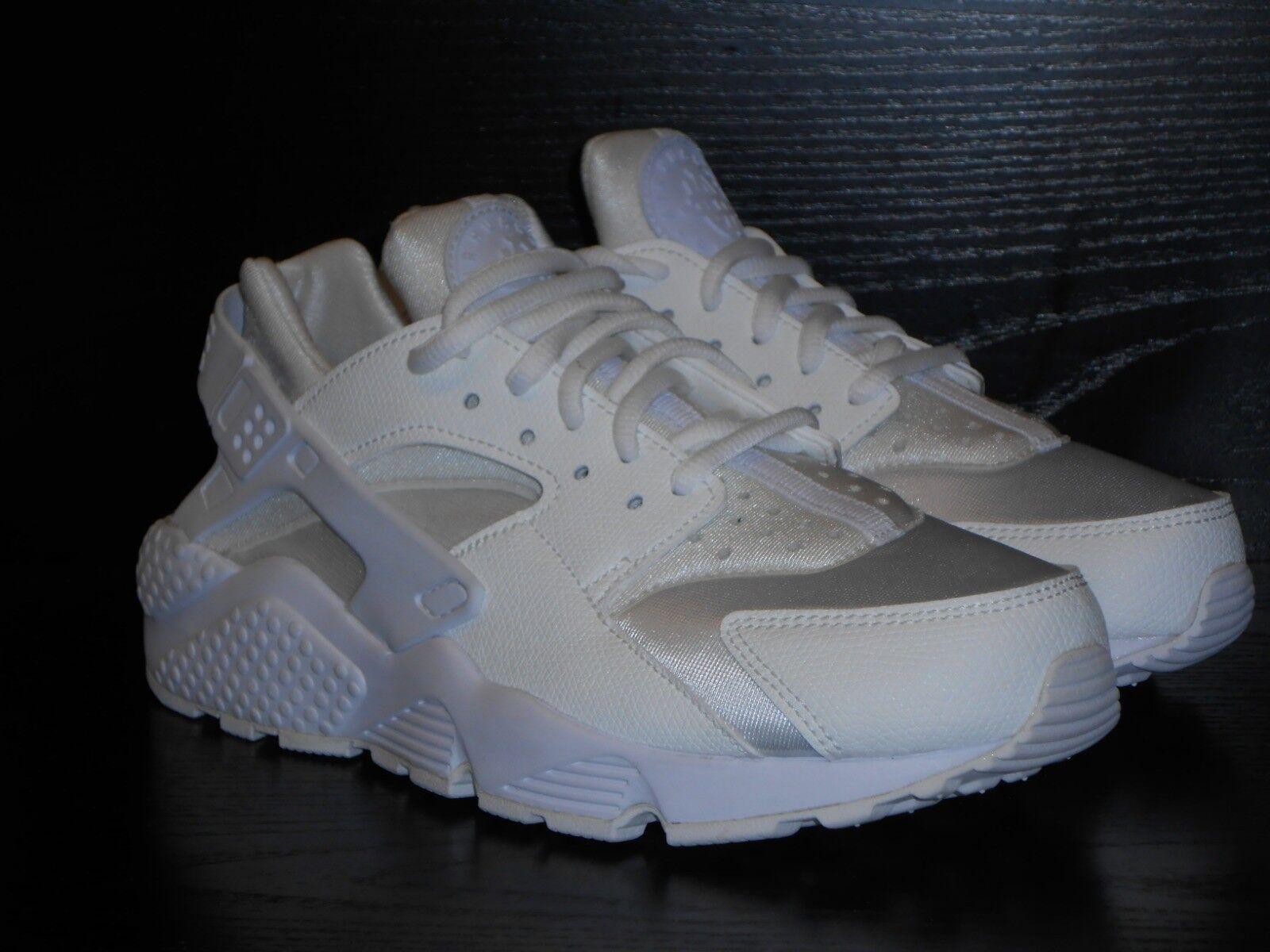 Nike Huarache Trainer Run Damenschuhe Trainer Huarache Schuhe Größe 4 Weiß  /- 11a6d7