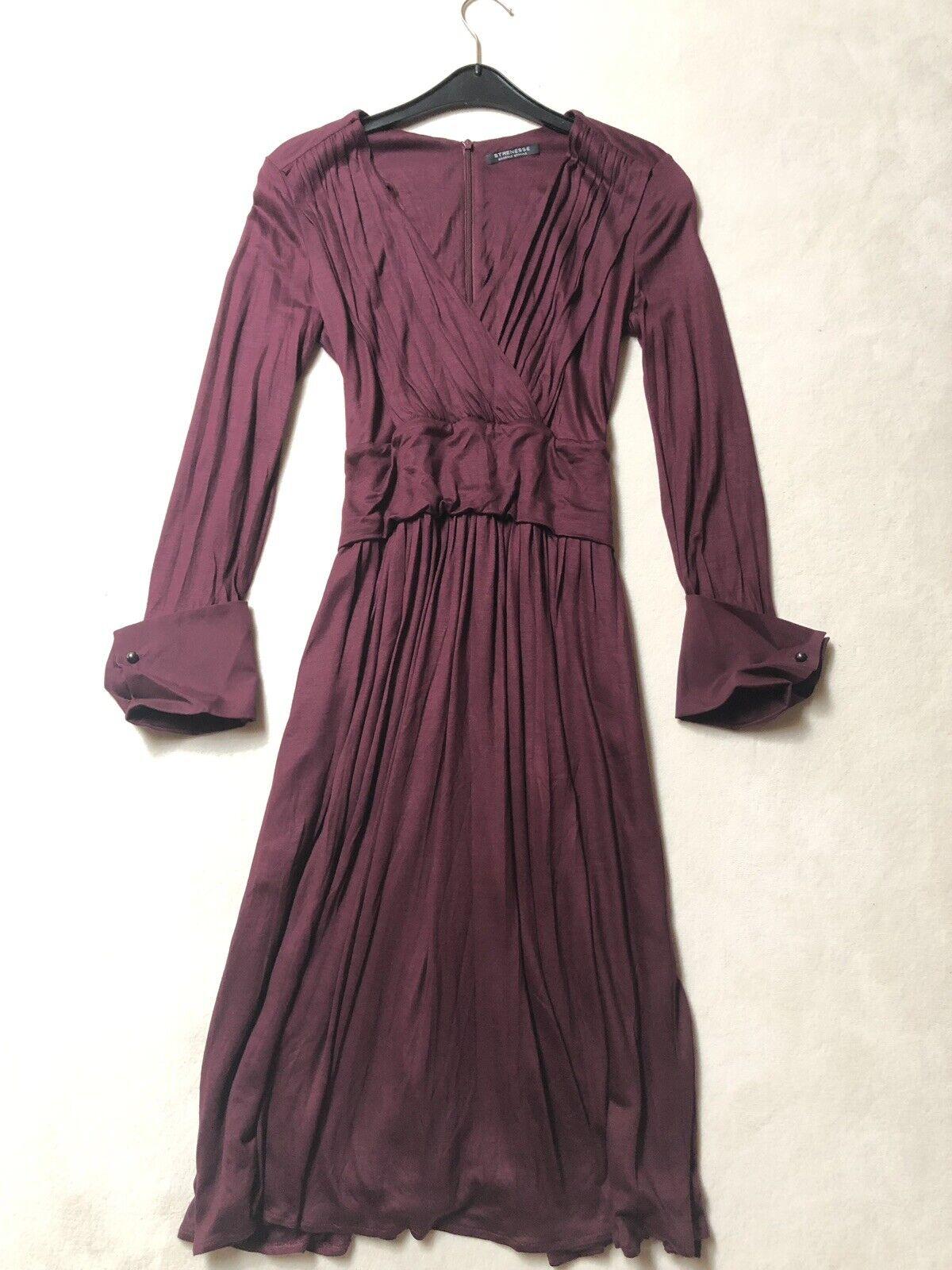 Strenesse Kleid 36  Weinrot Bordeaux ,wie Neu