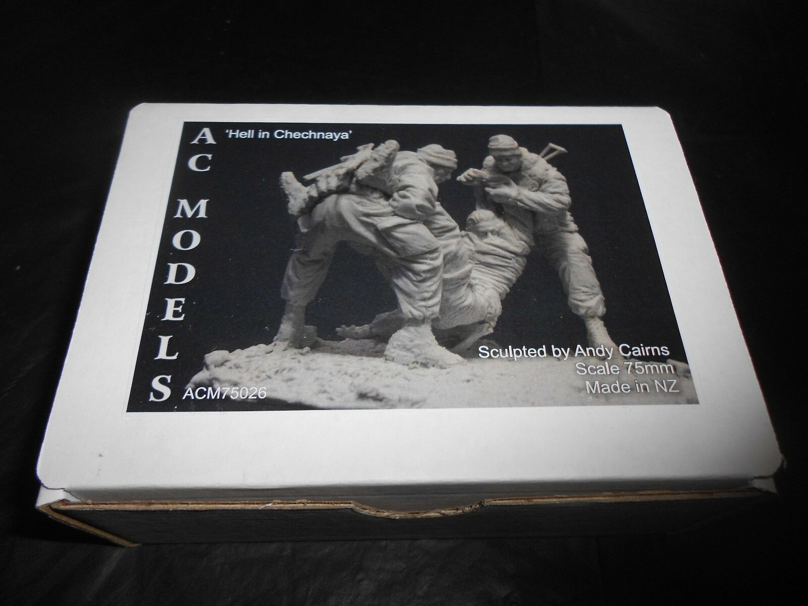 AC MODELS ACM75026 75mm  HELL IN CHECHNAYA  RESIN FIGURE KIT