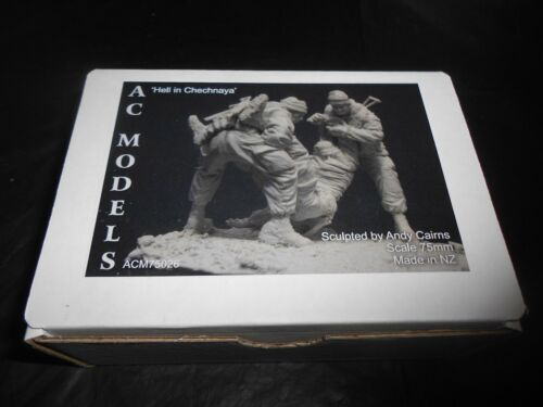 "AC MODELS ACM75026 75mm ""HELL IN CHECHNAYA"" RESIN FIGURE KIT"