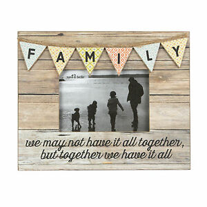 FAMILY-RUSTIC-BUNTING-PHOTO-FRAME-SENTIMENTAL-WORDS-BY-SASS-amp-BELLE