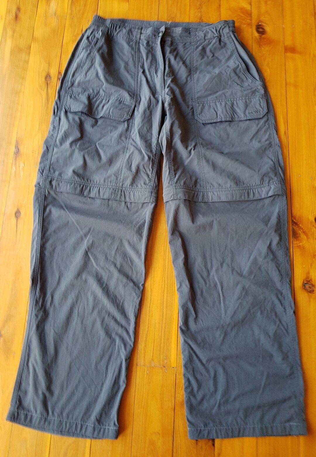 MONT Adventure Charcaol Lifestyle Zip-Off  Pants Size 14