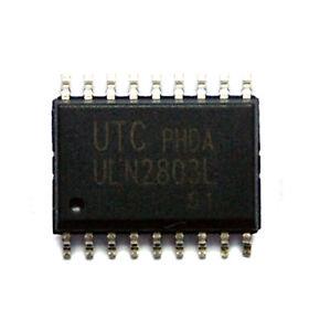 9PCS NEW ULN2803ADWR TI 16 SOP