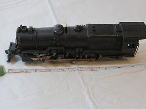 Vintage-black-train-car-engine-502-PAC-RARE-locomotive-antique-piece-as-shown