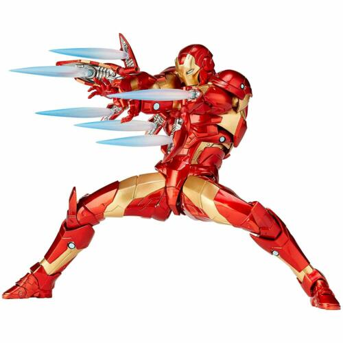 Kaiyodo Figurecomplex Amazing Yamaguchi Iron Man Bleeding Edge Armor Figur