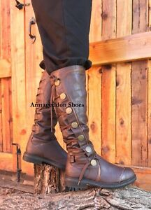 b8400d4b6961 Image is loading New-Brown-Mens-Steampunk-Western-Serenity-Firefly-Malcolm-