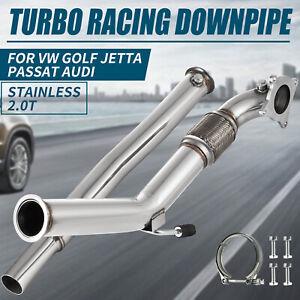 """3"""" Turbo Downpipe 2.0T Down Pipe for MK5 MK6 Volkswagen VW Jetta Beetle Golf GTi"""