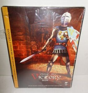 Boxed-BOARD-WAR-GAME-Joan-of-Arc-039-s-Victory-1429-Turning-Point-Sims