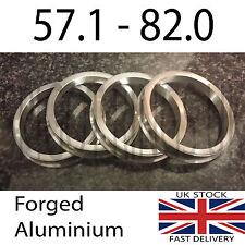 4 x 57.1 - 82mm Spigot Rings for Alloy Wheels Ronal Breyton AC Schnitzer BBS BMW