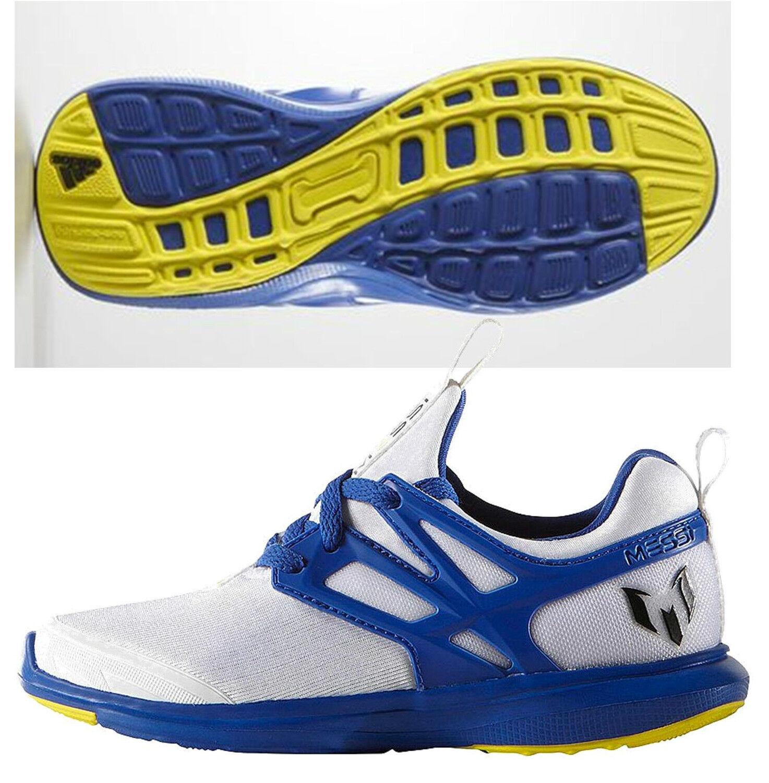 Adidas Messi formación corriendo Futsal Futbol Juvenil Zapatos Running blancoo prime Azul