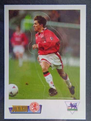Merlin cartes collection 1996//1997 Juninho Middlesbrough #S12