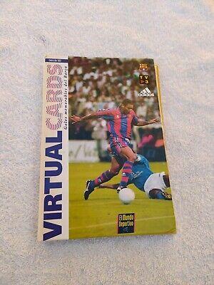 Vintage Album Fc Barcelona Virtuel Cards Goles Memorables Del Barca 1997 Ebay