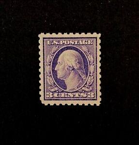 US-Stamps-Scott-464-3c-Washington-1916-Type-I-2018-PSAG-Cert-GC-XF-90