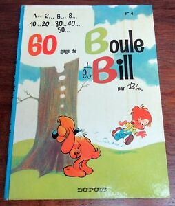 BOULE-ET-BILL-NO-4-ROBA-60-GAGS-EO-1967-TBE