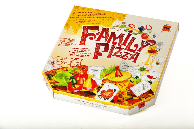 Family Pizza - squadra costruzione tavola gioco (in both  inglese + Russian)  fino al 70% di sconto
