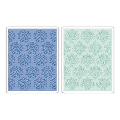 Large Sizzix Classical Beauty o Baroque Embossing Folder / Belleza o Barroco
