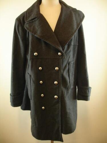 16w Dress Plus Peacoat Grey New Covington Military Jacket Kirke Kvinders 18w Long 15awXqxqp
