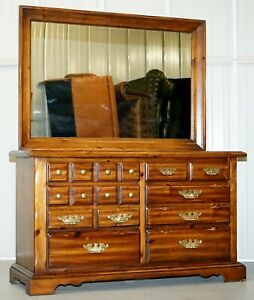 RRP-6000-THOMASVILLE-BANK-CHEST-OF-DRAWERS-WITH-LARGE-MIRROR-DRESSING-TABLE