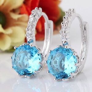 Foeverlove-18k-white-gold-filled-aquamarine-twinkling-WOMAN-leverback-earring