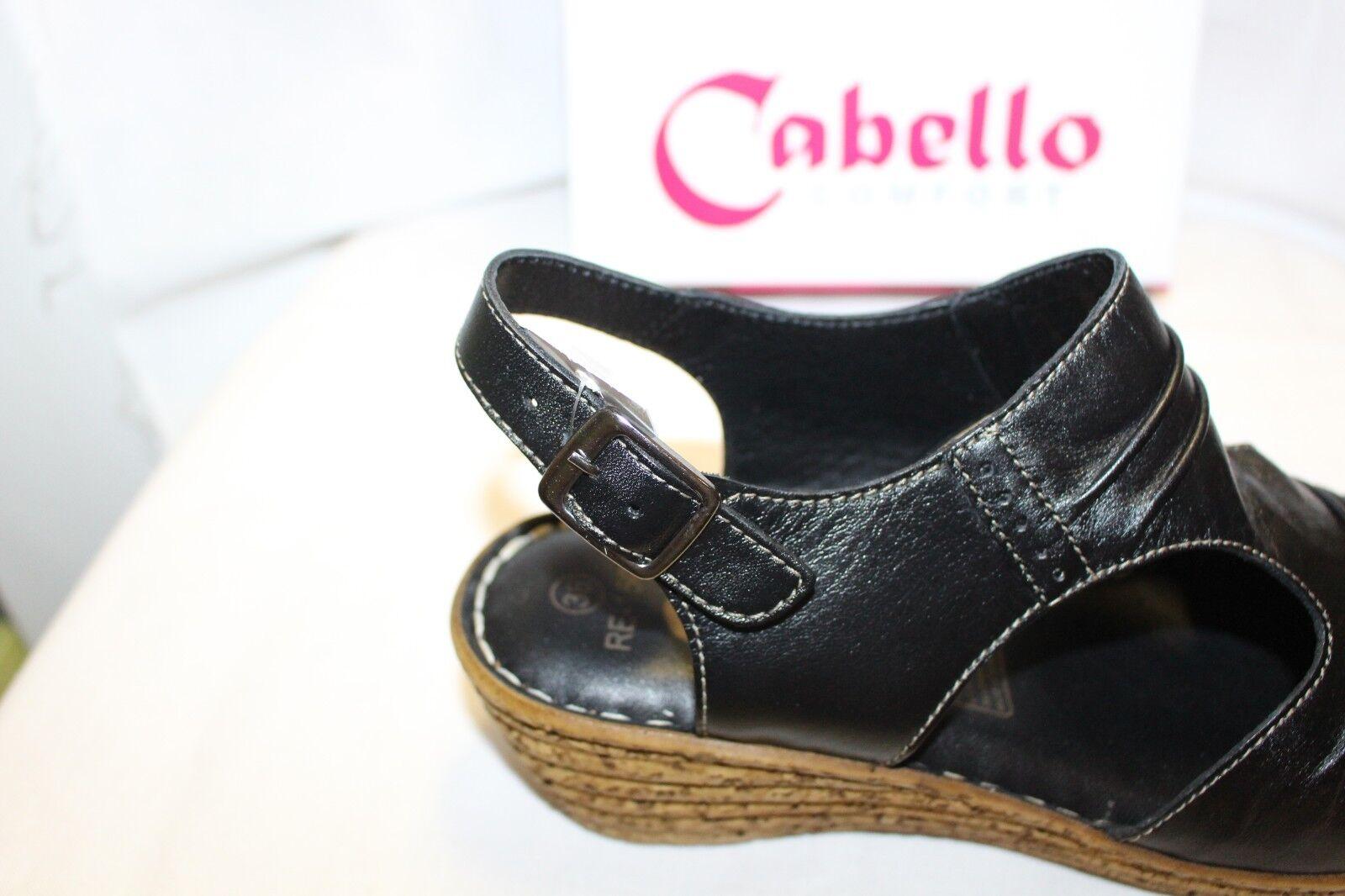 LADIES LADIES LADIES  SHOES FOOTWEAR - Cabello sandal RE1501 black 0a8b19