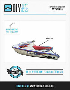 yamaha wave raider 700 1100 red or any color seat skin cover 1994 rh ebay com Yamaha Wave Jammer Yamaha Wave Racer