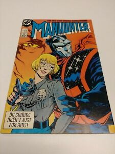 1988-Manhunter-Interface-Nov-5-DC-Yale-Mitchell-Tanghal-Comic-GREAT-CONDITION