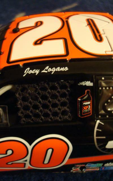 Joey Logano ROOKIE 1/24 Joe Gibbs Driven Racing Oil Race used Tire 1 of only 720