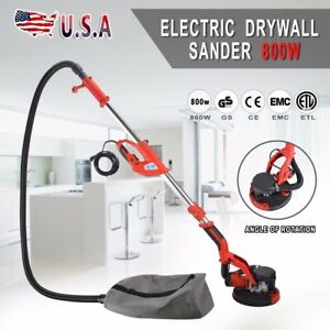 New-Electric-Drywall-Sander-Adjustable-Variable-Speed-With-Sanding-Pad-800W