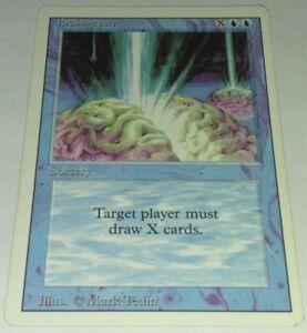 MTG Magic The Gathering Braingeyser Revised HP
