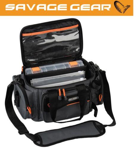Tackletasche Savage Gear Soft Lure Specialist bag S Angeltasche 21x38x22cm